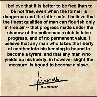 Mencken-on-freedom